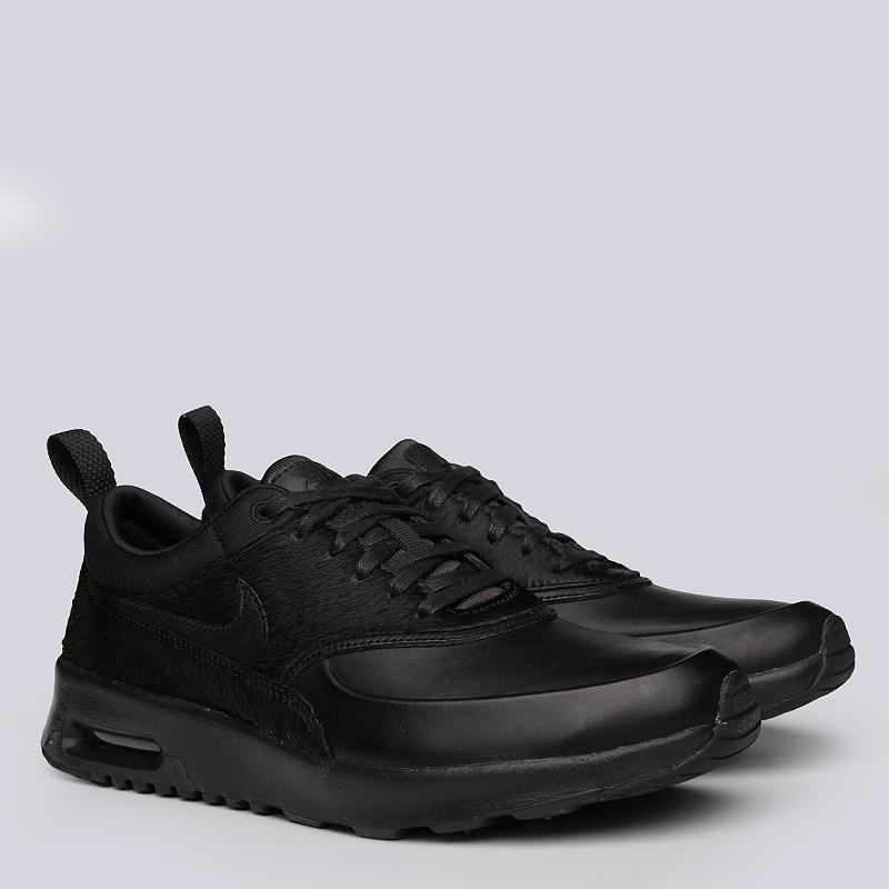 Кроссовки Nike Sportswear WMNS Air Max Thea PRMКроссовки lifestyle<br>Кожа, текстиль, резина<br><br>Цвет: Черный<br>Размеры US: 6;6.5;7;7.5;8;8.5<br>Пол: Женский