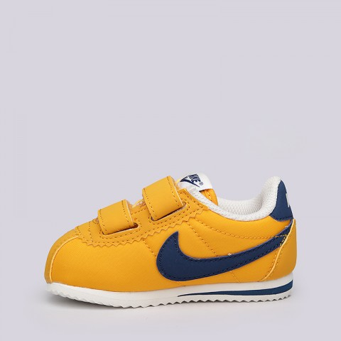 e5a4693b ... описание детские желтые, синие кроссовки nike cortez nylon tdv  749497-700 - цена, ...