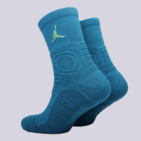 мужские голубые  носки jordan ultimate flight crew SX5321-301 - цена, описание, фото 2