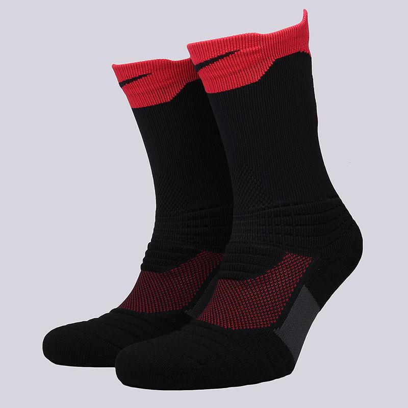Носки Nike U NK ELT Versa CrewНоски<br>58% нейлон, 29% полиэстер, 9% хлопок, 4%&amp;nbsp;эластан<br><br>Цвет: Чёрный, красный<br>Размеры US: M;L;XL<br>Пол: Мужской