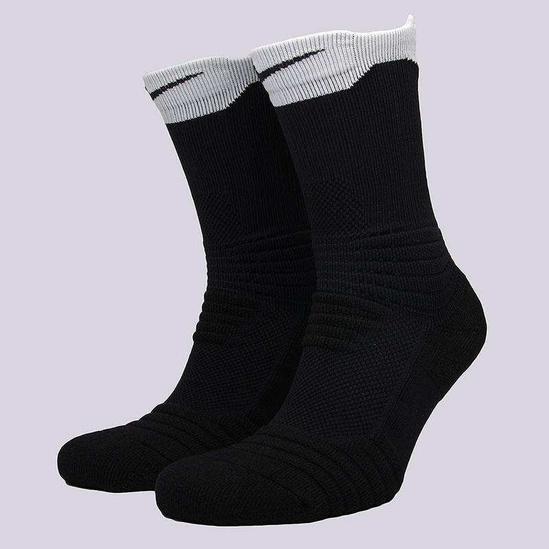 Носки Nike U NK ELT Versa CrewНоски<br>58% нейлон, 29% полиэстер, 9% хлопок, 4%&amp;nbsp;эластан<br><br>Цвет: Чёрный, белый<br>Размеры US: M;L;XL<br>Пол: Мужской