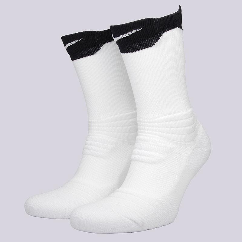 Носки Nike U NK ELT Versa CrewНоски<br>58% нейлон, 29% полиэстер, 9% хлопок, 4%&amp;nbsp;эластан<br><br>Цвет: Белый, чёрный<br>Размеры US: M<br>Пол: Мужской