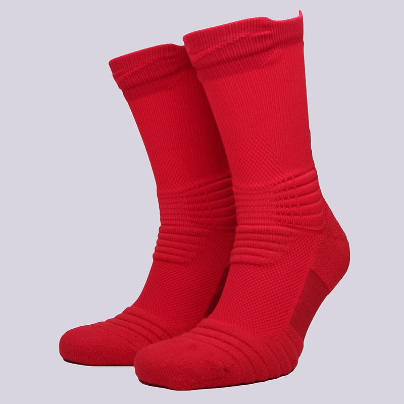 Носки Nike Elite Versatility Crew SocksНоски<br>58% нейлон, 29% полиэстер, 9% хлопок, 4%эластан<br><br>Цвет: Красный<br>Размеры US: L;XL<br>Пол: Мужской