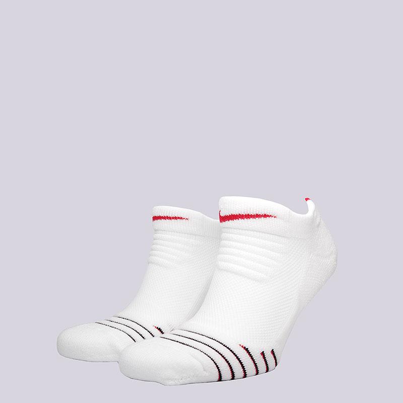 Носки Nike U NK ELT Versa LowНоски<br>50% нейлон, 35% полиэстер, 10% хлопок, 5%эластан<br><br>Цвет: Белый, красный<br>Размеры US: M;L;XL<br>Пол: Мужской
