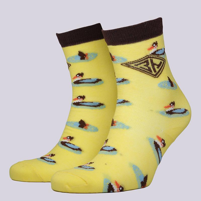 Носки Запорожец heritage УткиНоски<br>95% хлопок, 5% эластан<br><br>Цвет: Желтый<br>Размеры : OS<br>Пол: Мужской