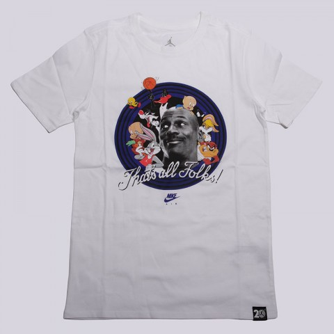 11 That's All Folks Tee Jordan