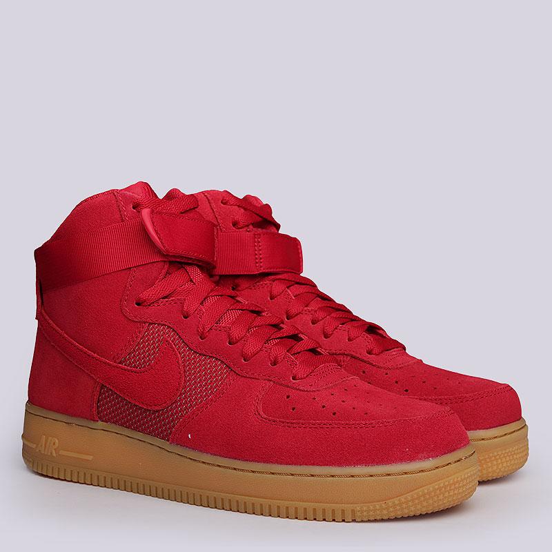 Кроссовки Nike Sportswear Air Force 1 High07 LV8Кроссовки lifestyle<br>Кожа, текстиль, резина<br><br>Цвет: Красный, коричневый<br>Размеры US: 8.5;9;10;10.5<br>Пол: Мужской