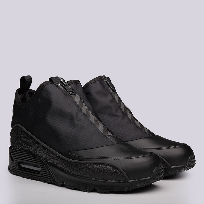 Кроссовки Nike Sportswear Air Max 90 UtilityКроссовки lifestyle<br>Кожа, текстиль, резина<br><br>Цвет: Черный<br>Размеры US: 8.5;10.5;11<br>Пол: Мужской