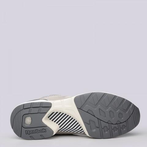 мужские бежевые  кроссовки reebok gs pump graphlite AR3632 - цена, описание, фото 4