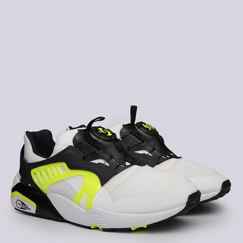 Кроссовки Puma Disс Blaze ElectricКроссовки lifestyle<br>Текстиль, резина, пластик<br><br>Цвет: Черный, белый<br>Размеры UK: 6<br>Пол: Мужской