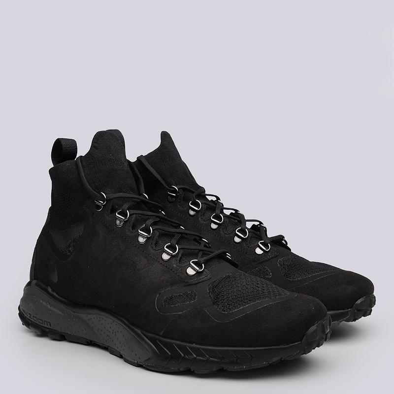 Кроссовки  Nike Sportswear Zoom Talaria Mid FKКроссовки lifestyle<br>Текстиль, синтетика, резина, пластик<br><br>Цвет: Чёрный<br>Размеры US: 8.5<br>Пол: Мужской