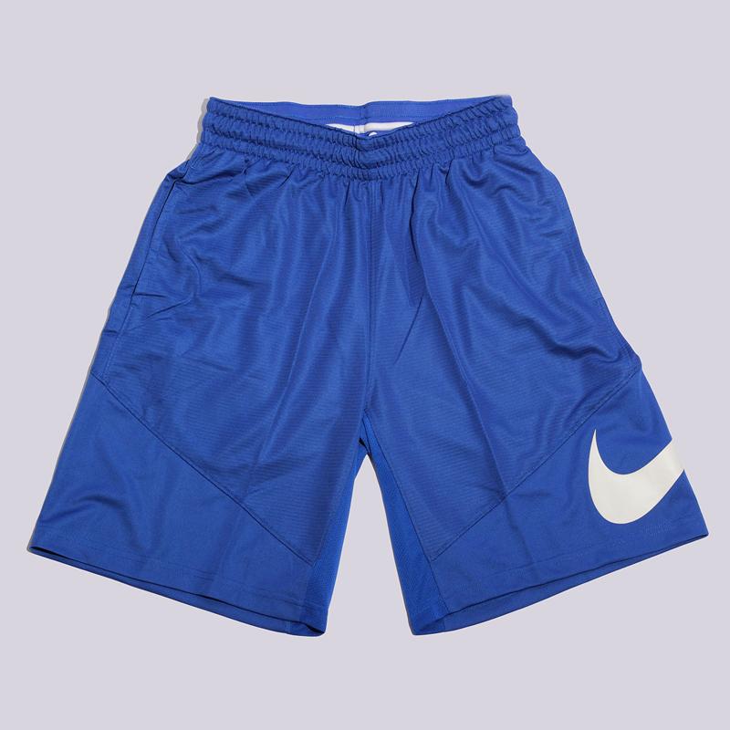 Шорты Nike Short HBRШорты<br>100% полиэстр<br><br>Цвет: Синий<br>Размеры US: S;M<br>Пол: Мужской