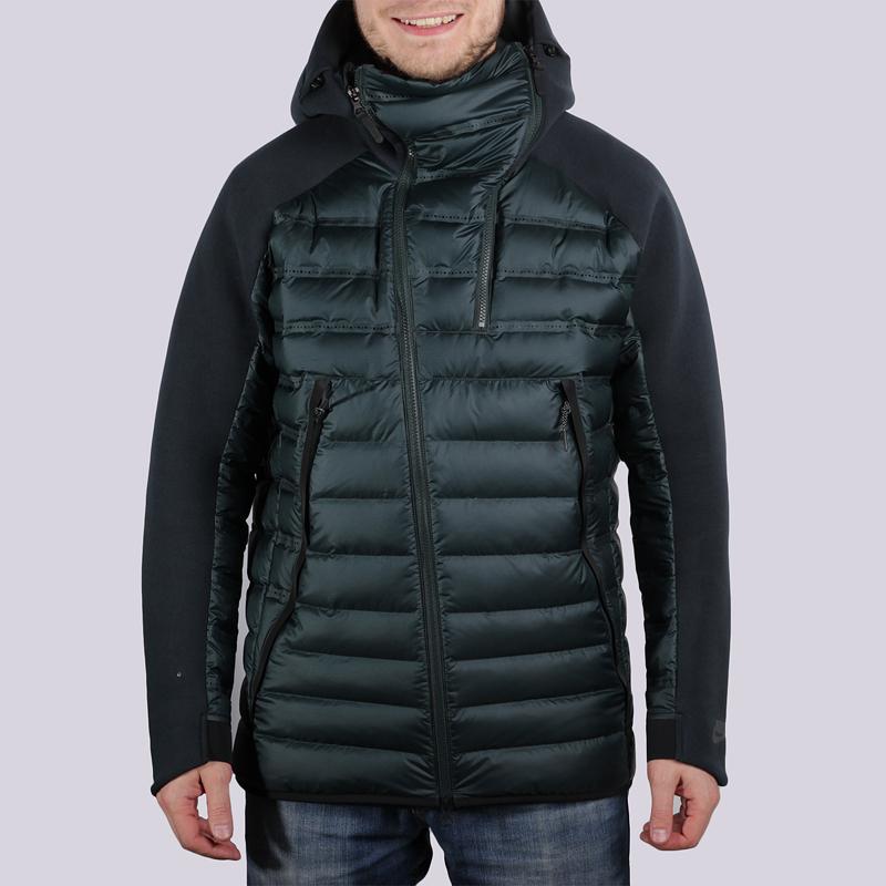 Куртка Nike TCH FLC JKT ARLFTКуртки, пуховики<br>100% полиэстер<br><br>Цвет: Зелёный<br>Размеры US: S<br>Пол: Мужской