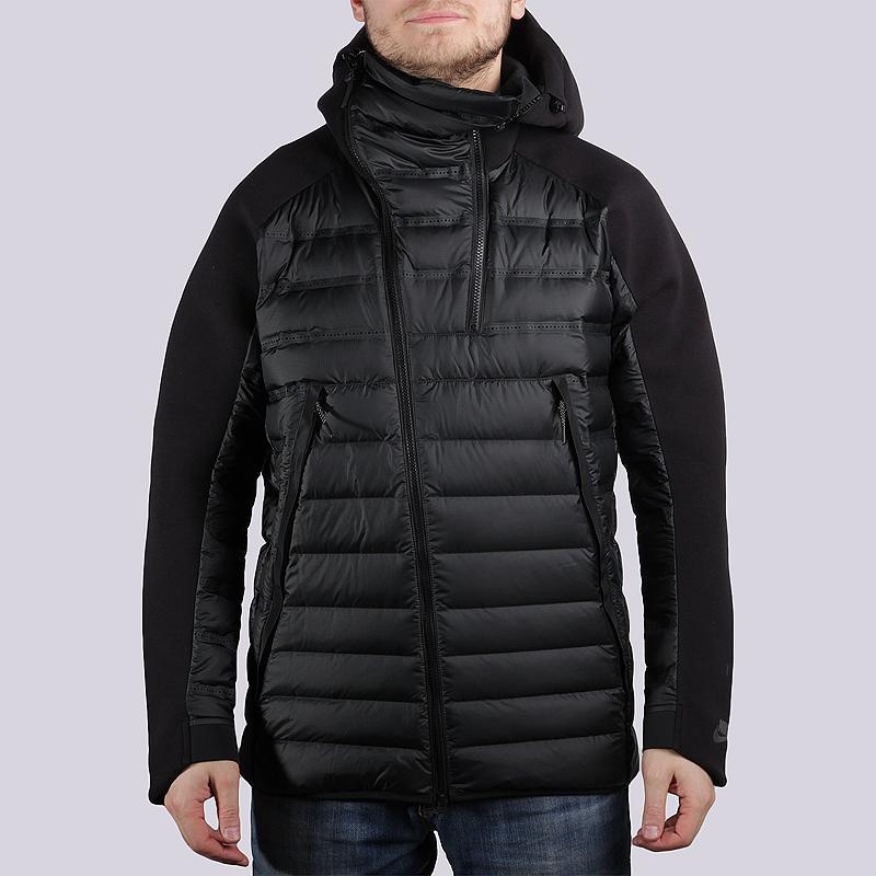 Куртка Nike Sportswear TCH FLC JKT ARLFTКуртки, пуховики<br>100% полиэстер<br><br>Цвет: Чёрный<br>Размеры US: XL<br>Пол: Мужской