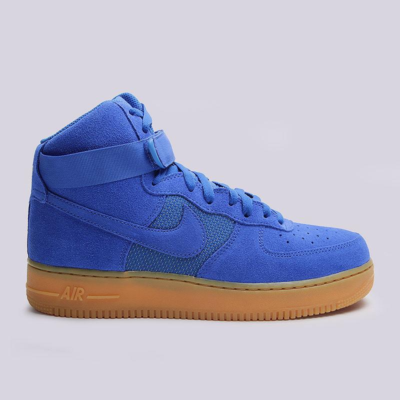 Кроссовки Nike Sportswear Air Force 1 High 07 LV8Кроссовки lifestyle<br>Кожа, текстиль, резина<br><br>Цвет: Синий<br>Размеры US: 8;8.5;9.5;10;10.5;11;11.5;12.5<br>Пол: Мужской