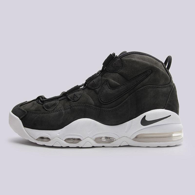 Кроссовки Nike Sportswear Air Max UptempoКроссовки lifestyle<br>Кожа, текстиль, резина, пластик<br><br>Цвет: Чёрный, белый<br>Размеры US: 9;10;10.5<br>Пол: Мужской