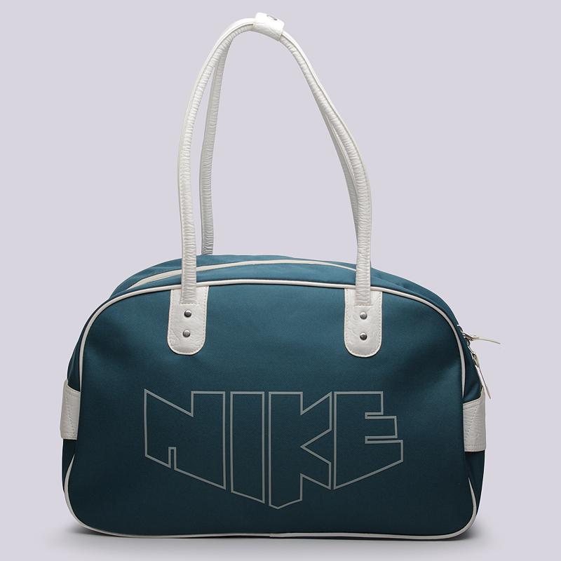 Сумка Nike Sportswear HERITAGE 76 PRINT SHOULDER CLUСумки, рюкзаки<br>Полиэстер<br><br>Цвет: Голубой<br>Размеры US: 1SIZE<br>Пол: Женский