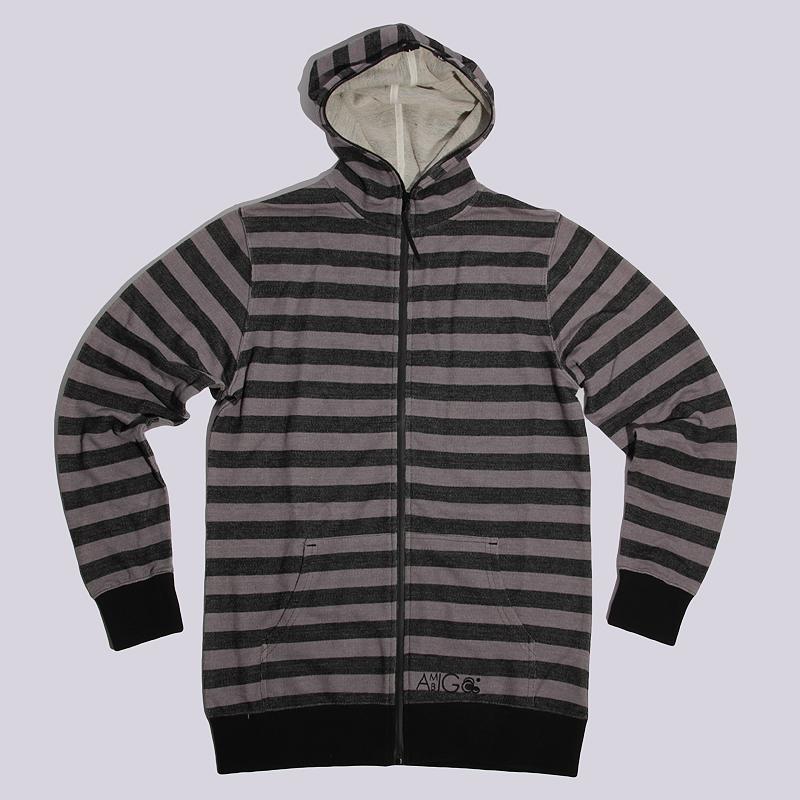 Толстовка Ambiguous BlackТолстовки свитера<br>80% хлопок, 20% полиэстер<br><br>Цвет: Серый<br>Размеры US: S<br>Пол: Мужской