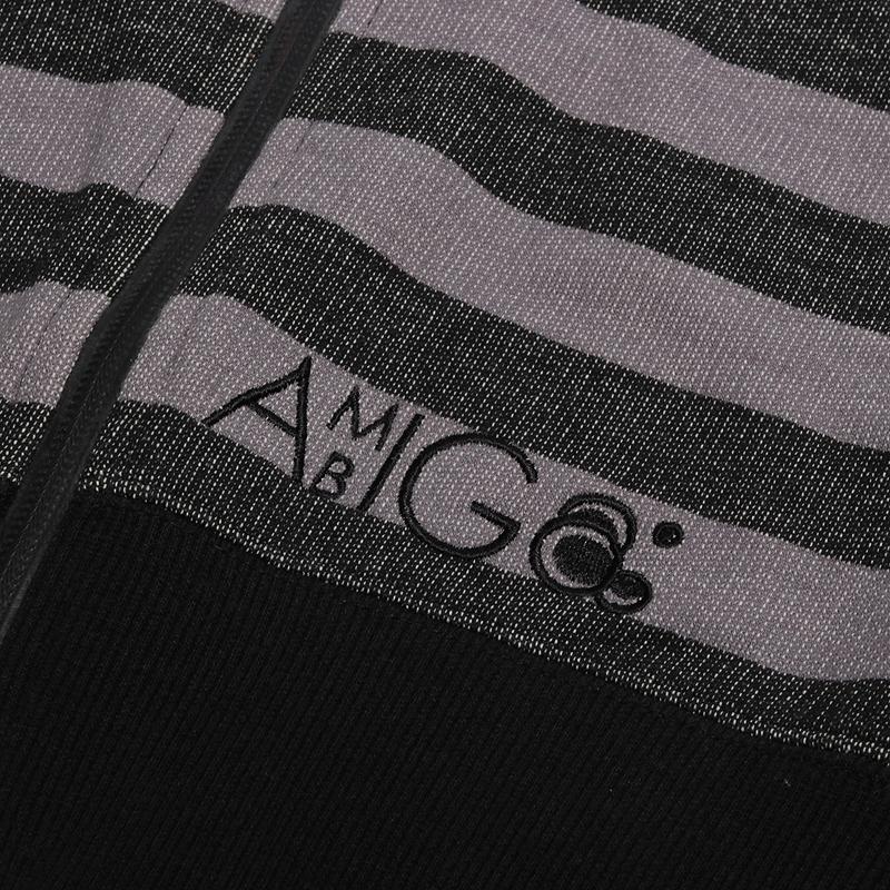 мужскую серую  толстовка ambiguous black 1543-blk - цена, описание, фото 2