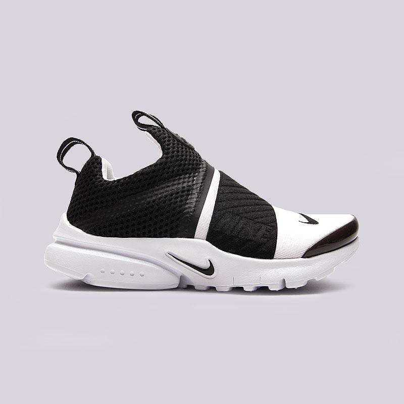 Кроссовки Nike Sportswear Air Presto Extreme PSОбувь детская<br>Текстиль, пластик, резина<br><br>Цвет: Черный, белый<br>Размеры US: 11C;12C;13C;1Y;2Y;3Y<br>Пол: Детский