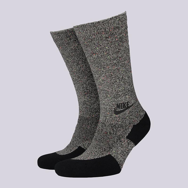 Носки Nike M NSW TCH PK CrewНоски<br>37% хлопок, 35% полиэстер, 24% нейлон, 4% эластан<br><br>Цвет: Серый<br>Размеры US: M;L<br>Пол: Мужской