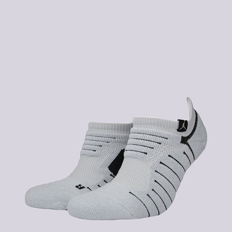 Носки Jordan Ultimate Flight Ankle SockНоски<br>49% полиэстер, 31% нейлон, 15% хлопок, 5% эластан<br><br>Цвет: Серый<br>Размеры US: M;L;XL<br>Пол: Мужской
