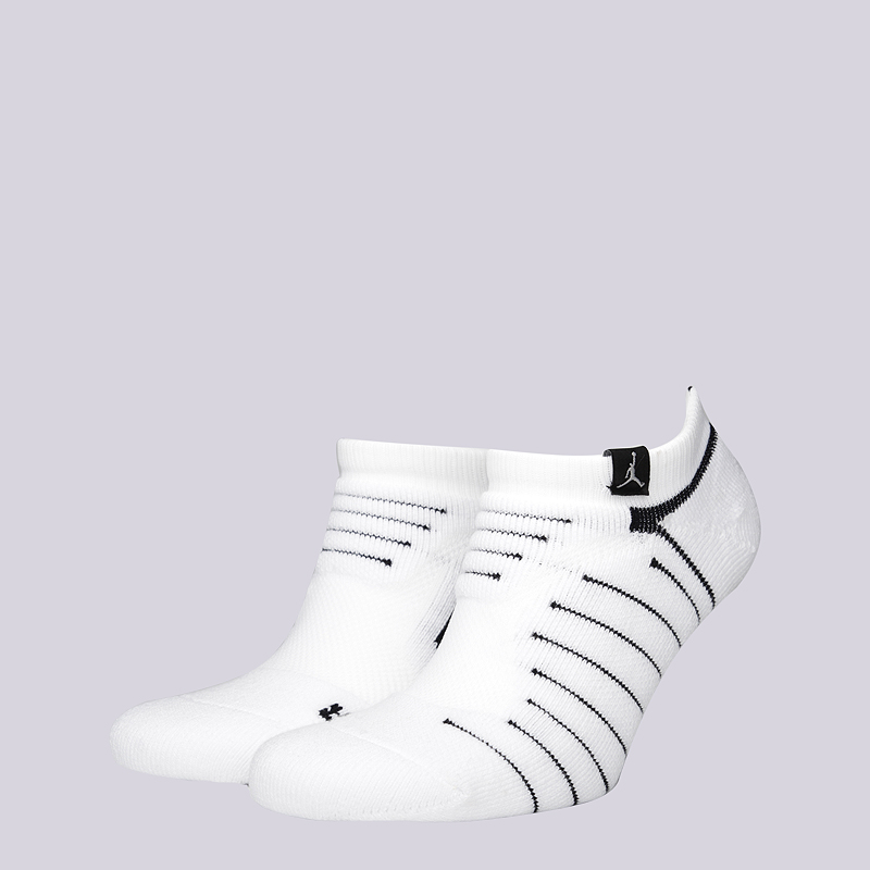 Носки Jordan Ultimate Flight Ankle SockНоски<br>49% полиэстер, 31% нейлон, 15% хлопок, 5% эластан<br><br>Цвет: Белый<br>Размеры US: M;L;XL<br>Пол: Мужской
