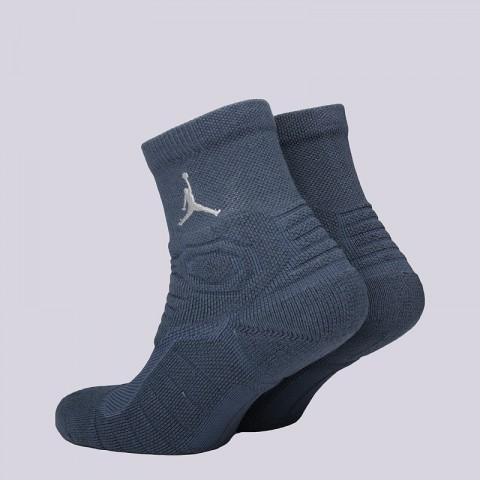 мужские синие  носки jordan ultimate flight qtr sock SX5321-464 - цена, описание, фото 2
