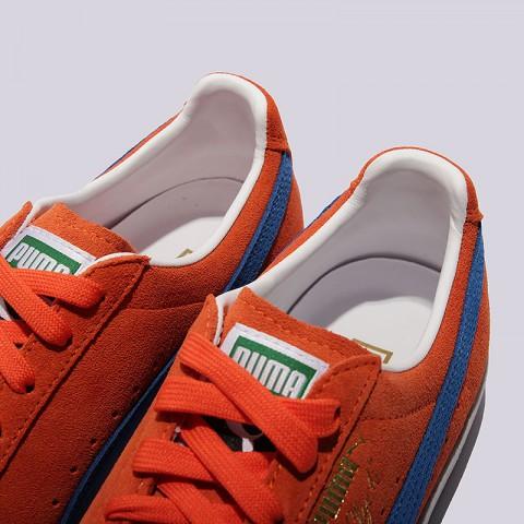 мужские оранжевые  кроссовки puma clyde nyc 36135501 - цена, описание, фото 4