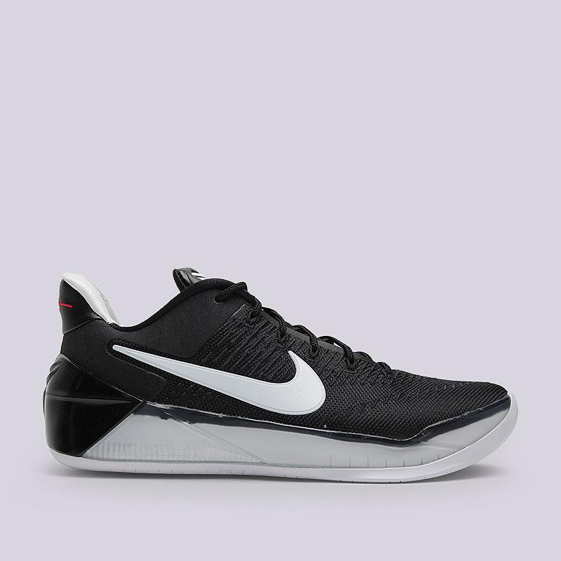 Кроссовки Nike Kobe A.D.Кроссовки баскетбольные<br>Текстиль, синтетика, резина<br><br>Цвет: Чёрный, белый<br>Размеры US: 10.5;12<br>Пол: Мужской