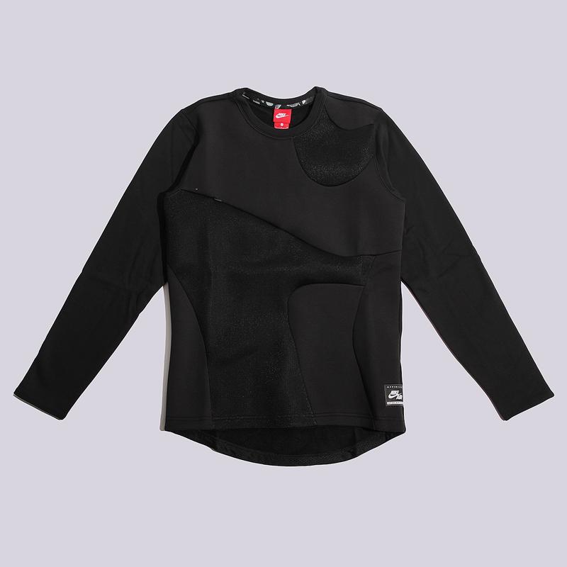 Толстовка Nike Air CRWТолстовки свитера<br>80% хлопок, 20% полиэстер<br><br>Цвет: Черный<br>Размеры US: L;XL<br>Пол: Мужской