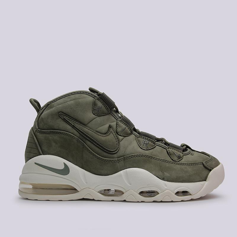 Кроссовки Nike Sportswear Air Max UptempoКроссовки lifestyle<br>кожа, текстиль, резина<br><br>Цвет: Зеленый<br>Размеры US: 10.5<br>Пол: Мужской