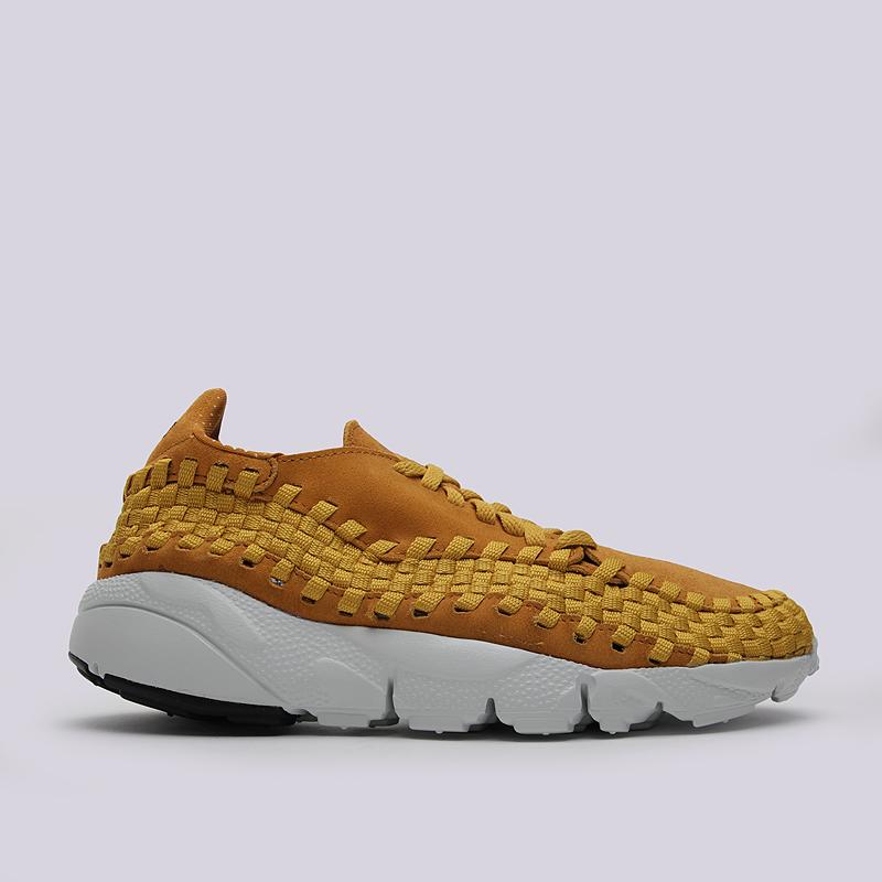 Кроссовки Nike Air Footscape Woven NMКроссовки lifestyle<br>кожа, текстиль, резина<br><br>Цвет: Желтый<br>Размеры US: 7.5;8;8.5;9;9.5;10;10.5;11;11.5;12<br>Пол: Мужской