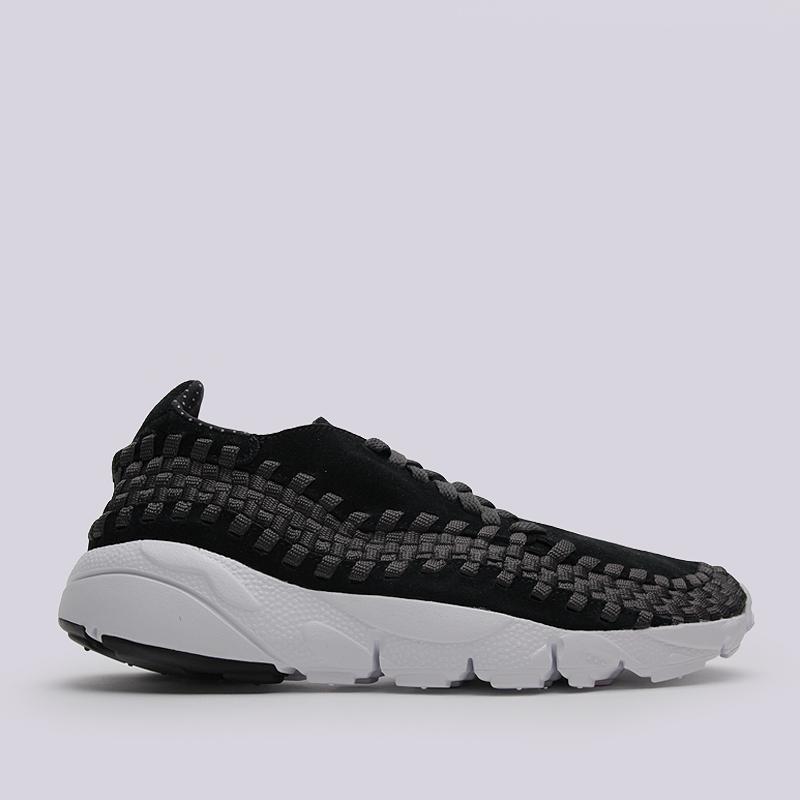 Кроссовки Nike Air Footscape Woven NMКроссовки lifestyle<br>кожа, текстиль,резина<br><br>Цвет: Черный<br>Размеры US: 8;8.5;9.5;10;11<br>Пол: Мужской
