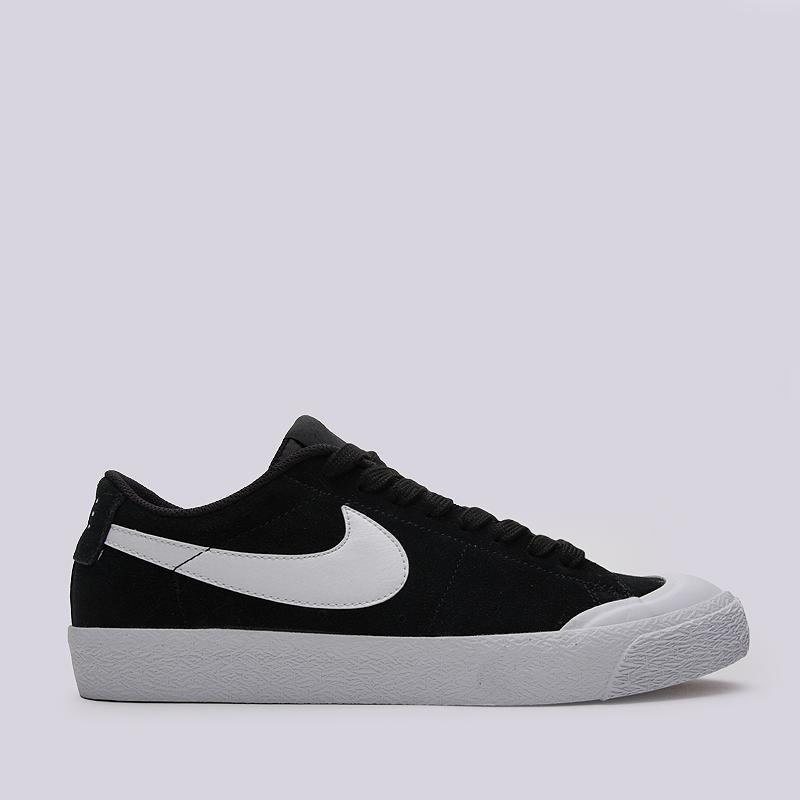 Кроссовки Nike SB SB Blazer Zoom Low XTКроссовки lifestyle<br>кожа, текстиль, резина<br><br>Цвет: Черный<br>Размеры US: 8<br>Пол: Мужской