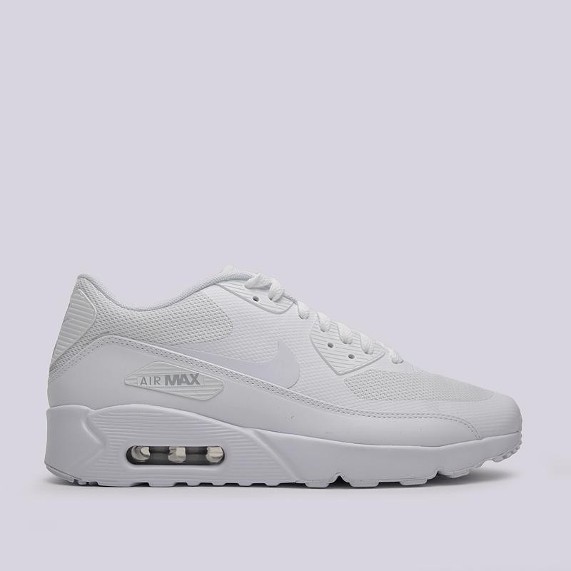 Кроссовки Nike Sportswear Air Max 90 Ultra 2.0 EssentialКроссовки lifestyle<br>пластик, текстиль, резина<br><br>Цвет: Белый<br>Размеры US: 8;8.5;9;9.5;10;10.5;11;11.5;12;12.5;13;14;15<br>Пол: Мужской