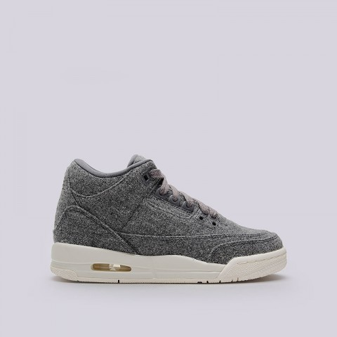 Кроссовки Jordan 3 Retro Wool BG