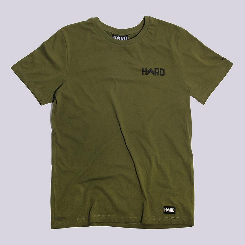 Футболка Hard Military T-ShirtФутболки<br>100% хлопок<br><br>Цвет: Зеленый<br>Размеры : S;M;L;XL;2XL<br>Пол: Мужской