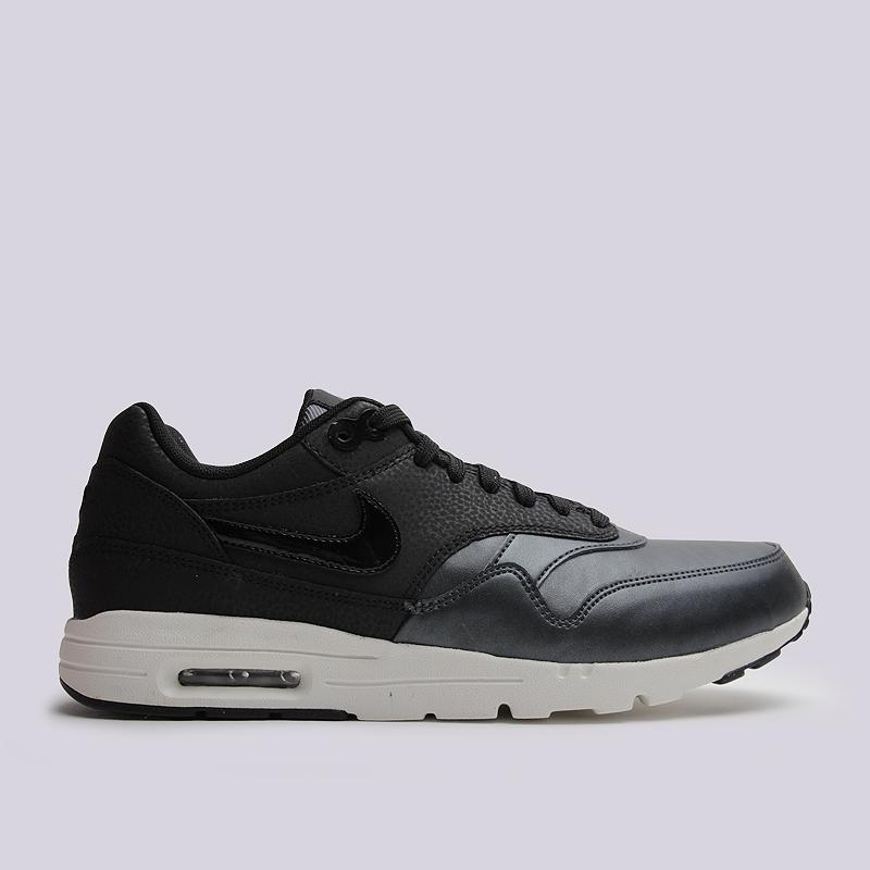 Кроссовки Nike Sportswear WMNS Air Max 1 Ultra SEКроссовки lifestyle<br>кожа, текстиль, резина<br><br>Цвет: Черный<br>Размеры US: 9.5<br>Пол: Женский