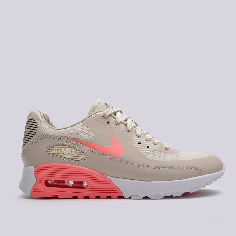 Кроссовки Nike Sportswear WMNS Air Max 90 Ultra 2.0Кроссовки lifestyle<br>текстиль, резина<br><br>Цвет: Бежевый<br>Размеры US: 6.5<br>Пол: Женский