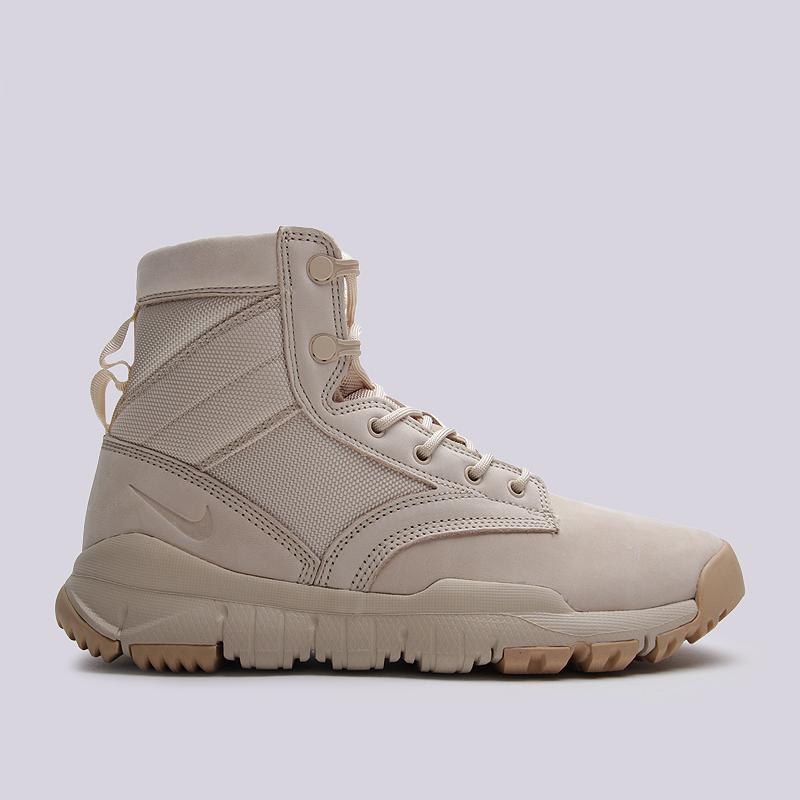 Ботинки Nike Sportswear SFB 6Ботинки<br>кожа, текстиль, резина<br><br>Цвет: Бежевый<br>Размеры US: 8;9;9.5;10;10.5;11<br>Пол: Мужской