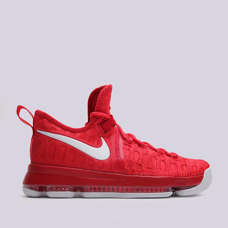 Кроссовки Nike Zoom KD 9Кроссовки баскетбольные<br>текстиль, резина<br><br>Цвет: Коралловый<br>Размеры US: 10.5<br>Пол: Мужской