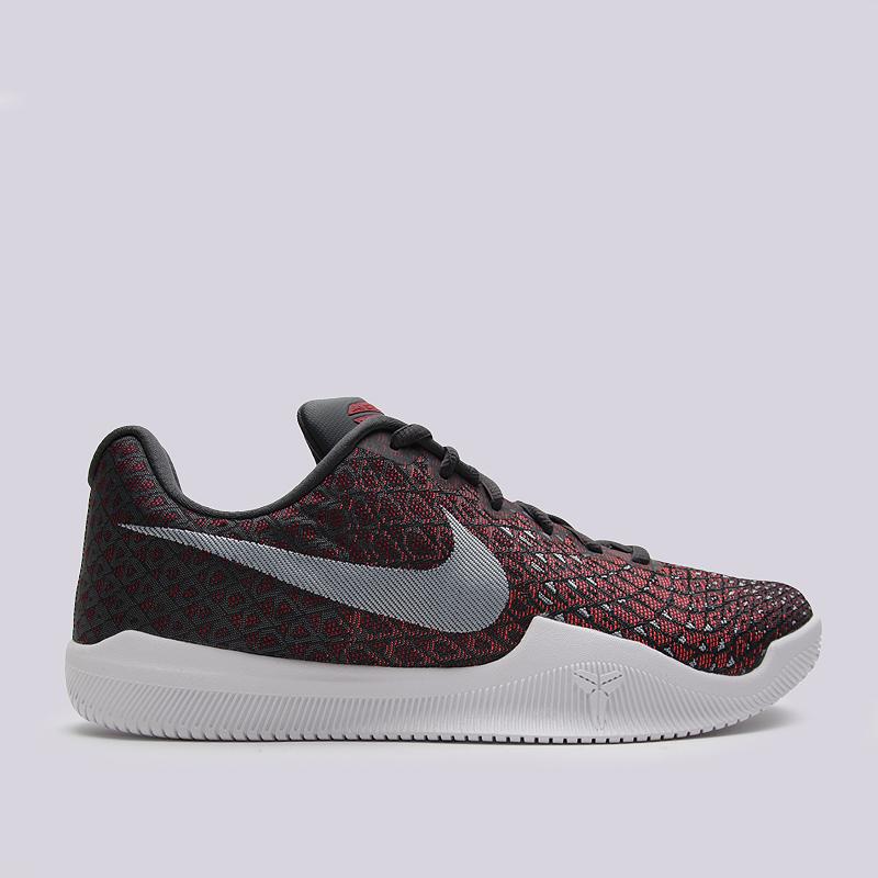 Кроссовки Nike Mamba InstinctКроссовки баскетбольные<br>пластик, текстиль, резина<br><br>Цвет: Малиновый<br>Размеры US: 8;8.5;9;9.5;10;10.5;11;11.5;12;13;15<br>Пол: Мужской
