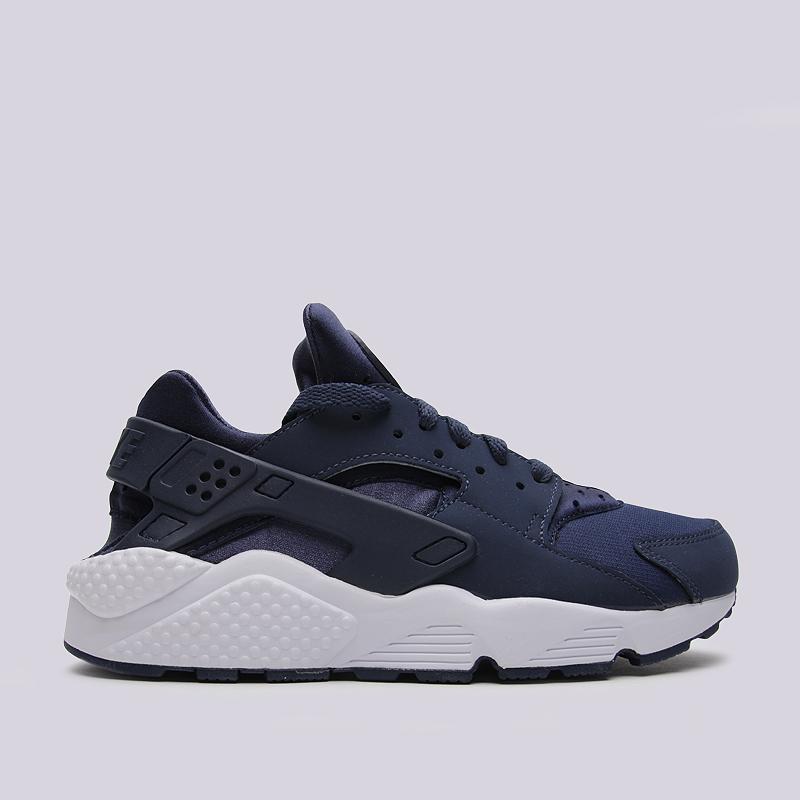 Кроссовки Nike Sportswear Air HuaracheКроссовки lifestyle<br>кожа, текстиль, резина<br><br>Цвет: Синий<br>Размеры US: 8<br>Пол: Мужской