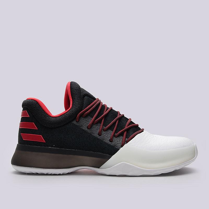 Кроссовки adidas Harden Vol.1Кроссовки баскетбольные<br>Текстиль, синтеткиа, резина<br><br>Цвет: Чёрный, белый<br>Размеры UK: 7;8;9.5;10;11;11.5;12;13.5<br>Пол: Мужской