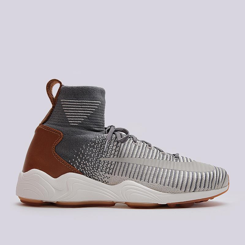 Кроссовки Nike Sportswear Zoom Mercurial XI FK FCКроссовки lifestyle<br>текстиль, резина<br><br>Цвет: Серый<br>Размеры US: 8;8.5;9;9.5;10;10.5;11;11.5;12<br>Пол: Мужской
