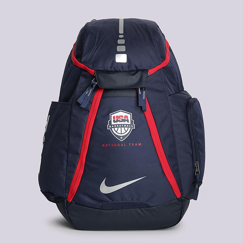 Рюкзак Nike Hoops Elite Max AirСумки, рюкзаки<br>полиэстер<br><br>Цвет: Синий<br>Размеры US: OS<br>Пол: Мужской