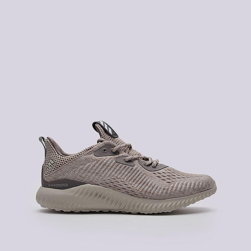 Кроссовки adidas Originals Alphabounce EM WКроссовки lifestyle<br>Текстиль, синтетика, резина<br><br>Цвет: Бежевый<br>Размеры UK: 5.5;6;6.5;7;7.5;8<br>Пол: Женский