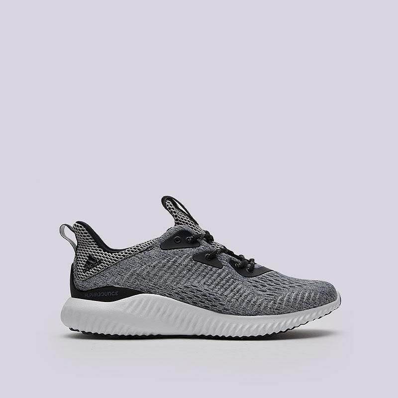 Кроссовки adidas Alphabounce EM MКроссовки lifestyle<br>Текстиль, синтетика, резина<br><br>Цвет: Чёрный<br>Размеры UK: 7<br>Пол: Мужской
