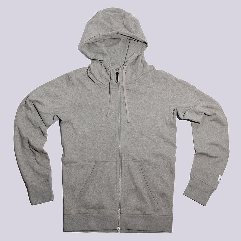 Толстовка adidas Originals x Reigning Champ AARC FTFZ HoodieТолстовки свитера<br>100% хлопок<br><br>Цвет: Серый<br>Размеры UK: S;M;L;XL<br>Пол: Мужской